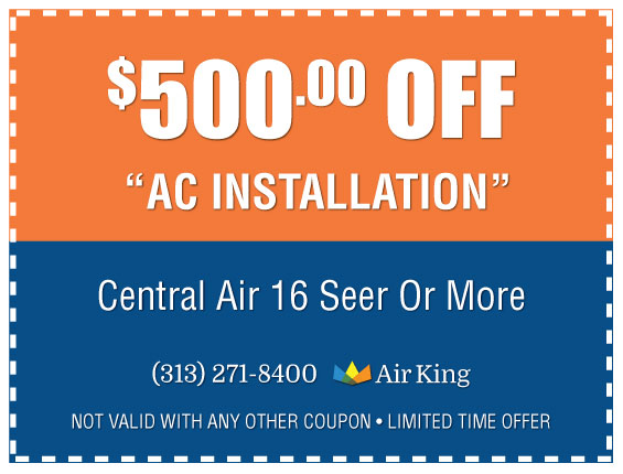 500 Off Air Conditioning Installation