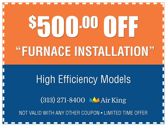 500 off Furnace Installation