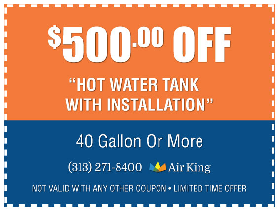 500 Off Hot Water Heater Installation