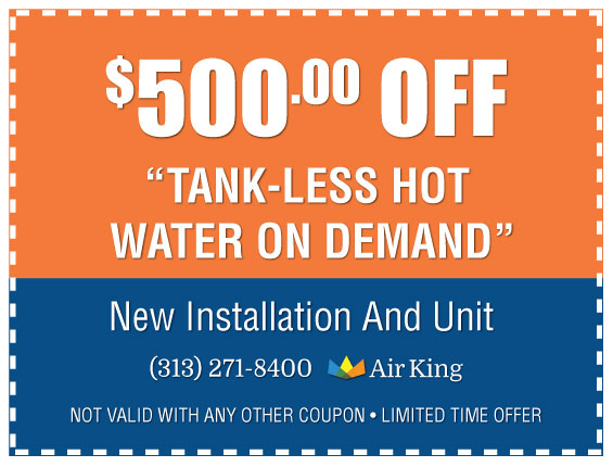 500 Off Tankless Water Heater