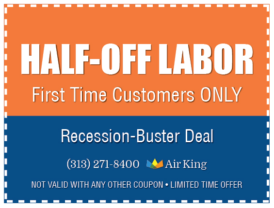 Half Off Labor For First Time Customers