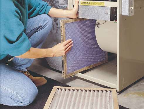 Changing Air Filters On Your Furnace